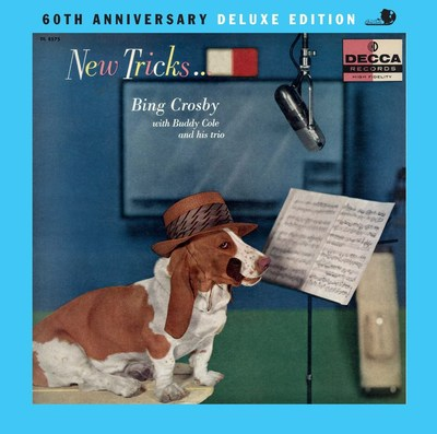 October 14 marks the 40th anniversary of the passing of Bing Crosby. HLC Properties, Ltd., the Crosby family company, announces the release of two new entries in the Bing Crosby Archive CD series. 'New Tricks: 60th Anniversary Deluxe Edition' and 'Among My Souvenirs: More Treasures from the Crosby Archive' will be released on December 8, 2017, through UMe. Kathryn Crosby, Bing's widow, is the executive producer of the series.