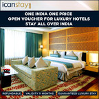 Open Voucher for Luxury Hotels. One India, One Price. (PRNewsfoto/First Time Travellers Limited)