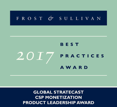 Stratecast | Frost & Sullivan Recognizes Huawei Technologies with the Stratecast Global Product Leadership Award in CSP Monetization