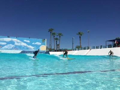 Wounded veterans recently had the chance to learn surfing in Tempe, Arizona thanks to a Wounded Warrior Project® connection event.
