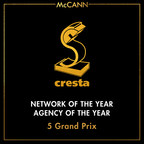 McCann Named Network and Agency of the Year at Cresta Awards