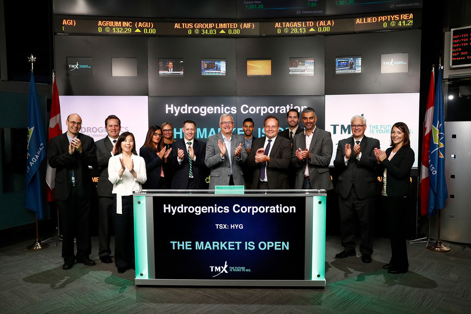 Hydrogenics Corporation Opens the Market (CNW Group/TMX Group Limited)