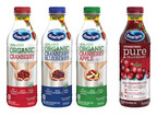 Ocean Spray Introduces Organic 100% Juice Blends And Pure Cranberry (Unsweetened) 100% Juice