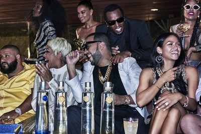 """SEAN """"DIDDY"""" COMBS, FRENCH MONTANA AND THE MAKERS OF CÎROC ULTRA PREMIUM VODKA LAUNCH CÎROC FRENCH VANILLA"""