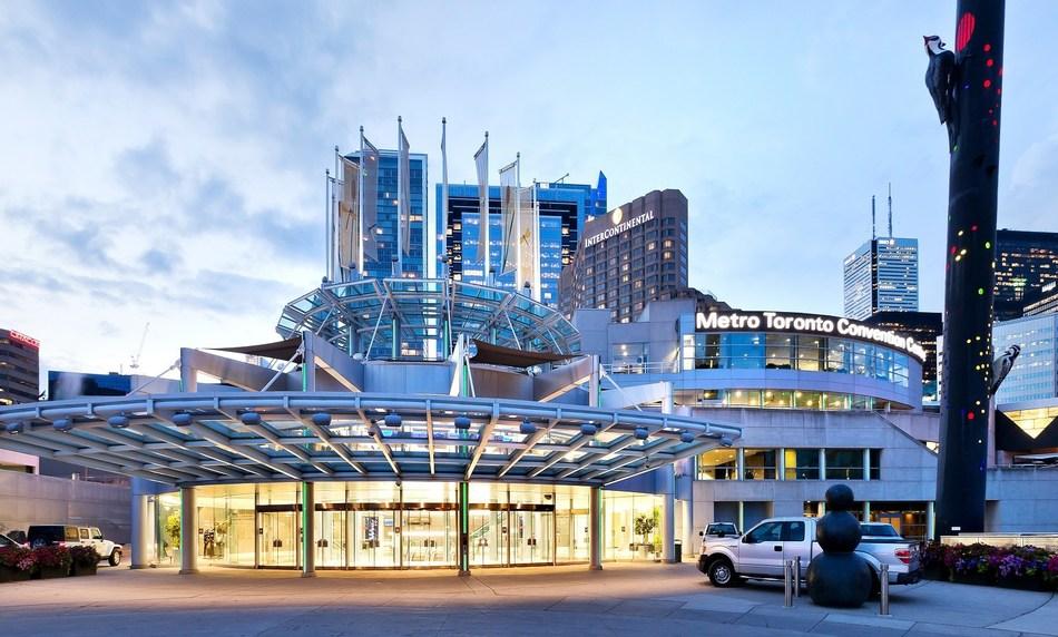 The Metro Toronto Convention Centre South Building entrance (CNW Group/Metro Toronto Convention Centre)