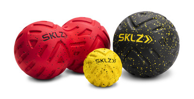 The SKLZ self-massage and recovery products are designed to target all of the achy muscles and sore joints restoring your balance, symmetry, and posture. Each new product in the line is ergonomically designed to ideal specifications of size, shape and texture for maximum effectiveness and ease of use.