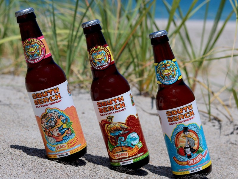 South Beach Brewing Company's Family of Beers.