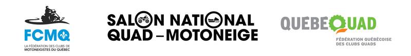 Logo : FCMQ - Salon National Quad-Motoneige - QuébéQuad (Groupe CNW/Fédération des clubs de motoneigistes du Québec)