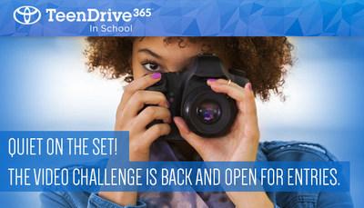 Toyota y Discovery Education lanzaron el Desafío de Video TeenDrive365 2018. Este es el sexto año de realización del desafío, patrocinado por Discovery Education, que invita a los adolescentes a enviar un anuncio de servicio público original de 30-60 segundos sobre hábitos de conducción segura para estudiantes de 9o. a 12o. grado.