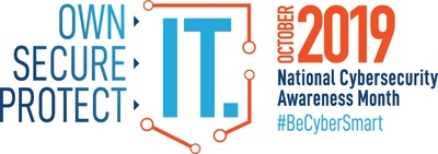 National Cyber Security Awareness Month Logo. (PRNewsFoto/National Cyber Security Alliance)