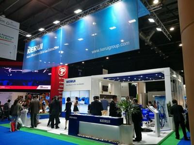 Exitosa participación de KERUI Petroleum en AOG 2017 (PRNewsfoto/Keruigroup)