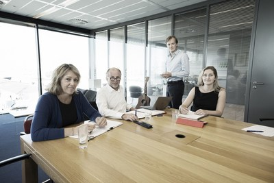 Marleen Stuurman (Operations Director), Kees Wagenaar (Managing Director), Ivan Wagenaar (Commercial Director) and Marlena Holdermans (Compliance Director) (PRNewsfoto/TOS)