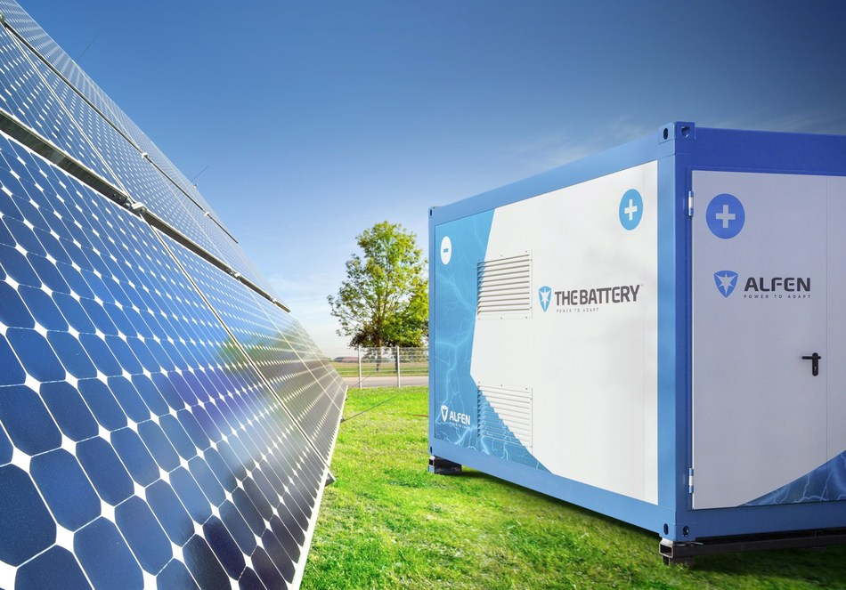 Alfen Launches the First Storage Solution for Self-healing Power Grids in the World (PRNewsfoto/Alfen)