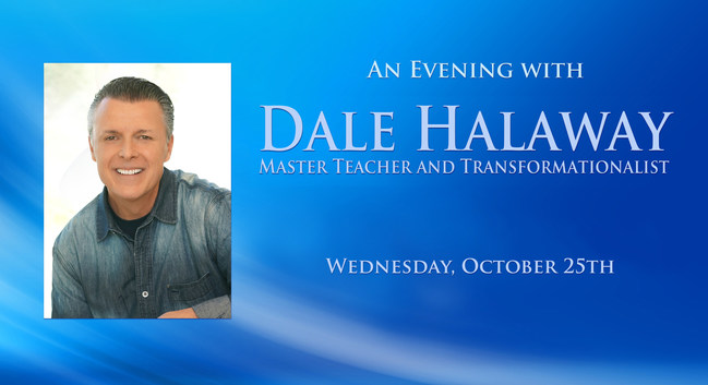 An Evening with Dale Halaway, Las Vegas Nevada, October 25th, 2017. www.SageTeachingsThatInspire.com