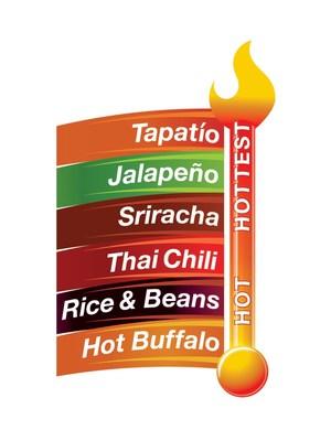 StarKist Tuna Creations® BOLD Heat Scale