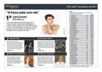 Carol Duarte é a celebridade mais comentada em setembro, aponta estudo da PR Newswire