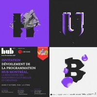 Dévoilement de la programmation - HUB MONTRÉAL (Groupe CNW/HUB MONTRÉAL)