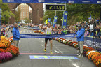 Chris Zablocki of Essex, CT, won the 2017 Eversource Hartford Marathon on Saturday, October 14.