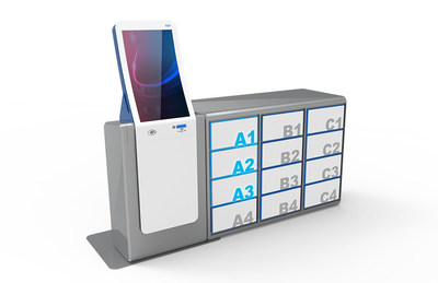 Diebold Nixdorf's e-commerce locker concept, Fusion.