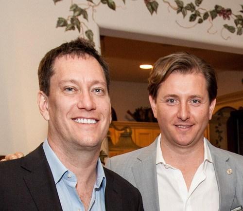 Ryan Scott and Mike Costache at Karma Members Summit (PRNewsfoto/Karma)