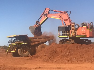 Figure 5 – Initial Removal of Waste Material (CNW Group/Superior Gold)
