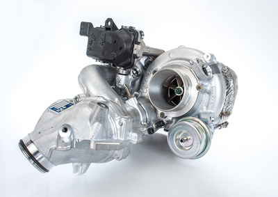 The first-to-market R2S® turbocharging technology with a very robust cast steel turbine housing from BorgWarner boosts fuel economy and performance while contributing to reduced emissions for diesel engines.