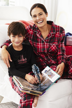 KN Karen Neuburger Plaid Family Pajamas