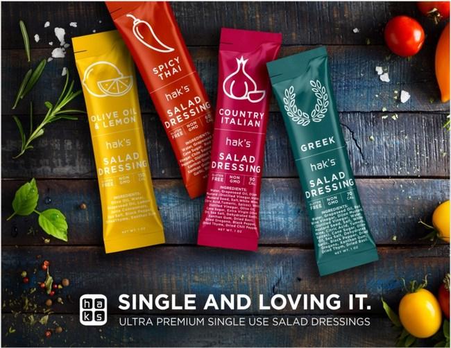 Hak's salad dressing promotional image