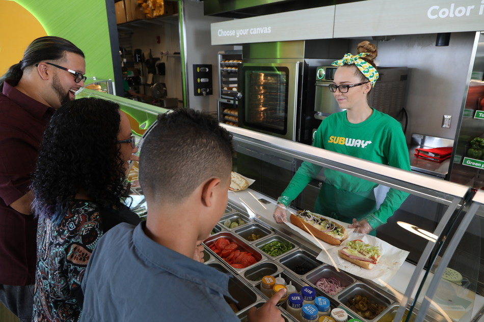 """On Friday, Nov. 3, Subway® is taking National Sandwich Day global for the first time ever with World Sandwich Day. More than 40,000 Subway® restaurants worldwide are celebrating World Sandwich Day and inviting customers to join the """"Live Feed,"""" a special offer to help fight hunger."""
