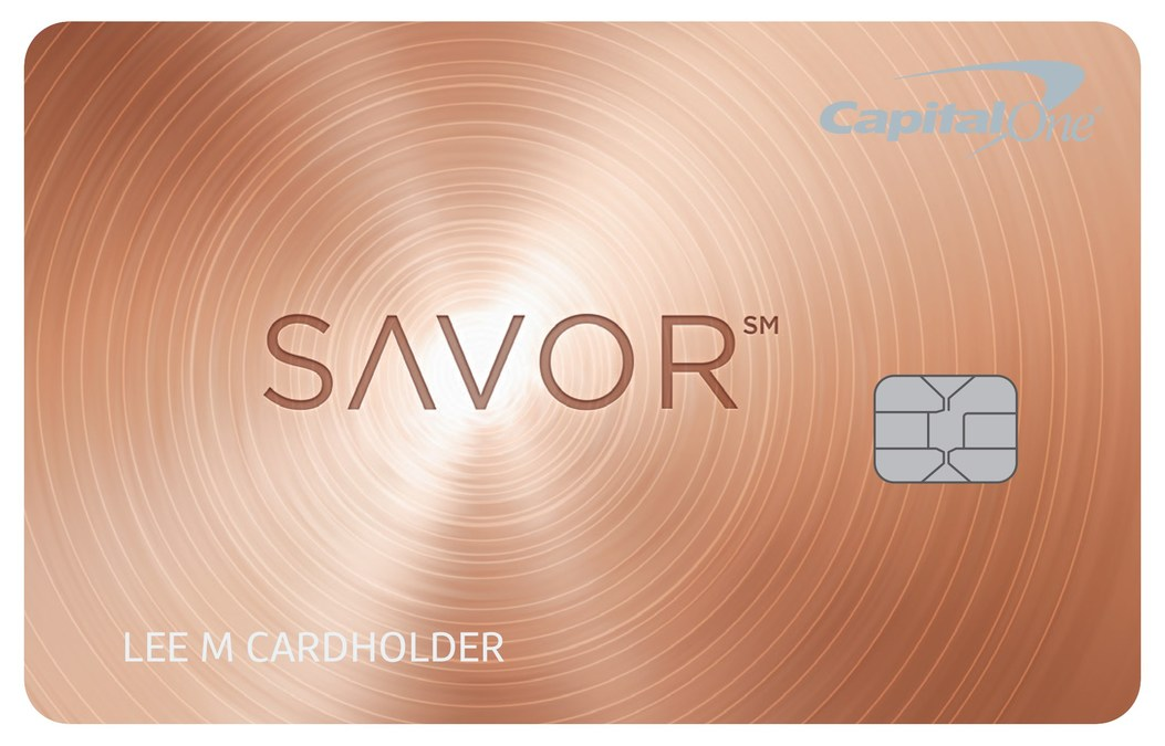 Capital One® Launches The Savor(SM) Card, A New Cash Back Card ...