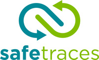 SafeTraces Logo (PRNewsfoto/SafeTraces, Inc.)