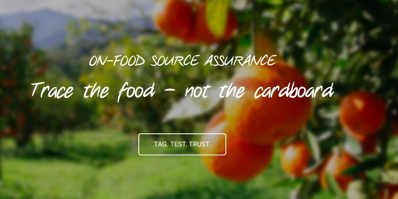 On-Food Source Assurance
