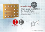 Peregrine's New FET Driver Brings Industry's Fastest Switching Speeds to GaN Class-D Audio