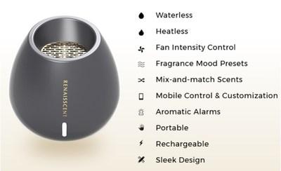 Renaisscent, a Waterless Smart Diffuser that Allows for