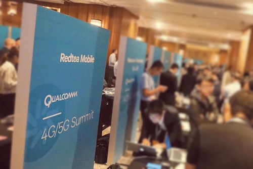 Redtea Mobile unveiled an integrated eSIM technology based upon Qualcomm Snapdragon Mobile Platform featuring iUICC concept at 4G/5G Summit 2017