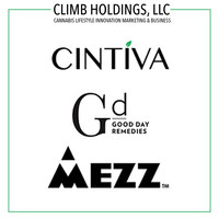 With subsidiaries in the medical, wellness and recreational cannabis spaces, CLIMB seeks to revolutionize the cannabis industry across all sectors. With Mezz's recreational products already on the shelf, medical and wellness products from Cintiva and Good Day Remedies are slated to hit the market in the first quarter of 2018.