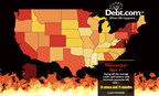In the interactive map, Debt.com shows just how hard it is to get out of credit card debt when you're making minimum payments. It can take more years than there are Friday the 13th and Saw movies combined. Now that's scary!