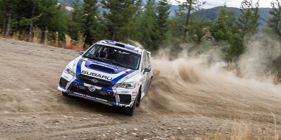 Subaru Clinches 2017 CRC Manufacturer's championship with Pacific Forest Rally Win (CNW Group/Subaru Canada Inc.)