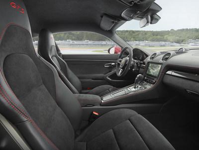 Porsche Boxster et Cayman 718 GTS