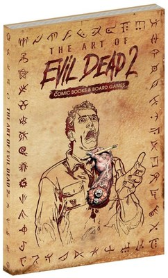 Evil Dead 2 Comic Book Omnibus and Art Book Launching on Kickstarter