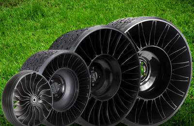 Michelin Expands Tweel Airless Radial Line and Distribution Network
