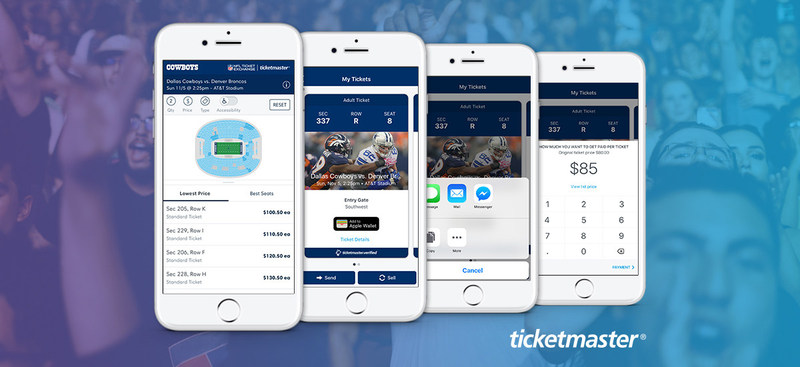 Ticketmaster and NFL Extend Partnership to Provide League with the First Open Architecture, Fully Digital Ticketing System in Sports
