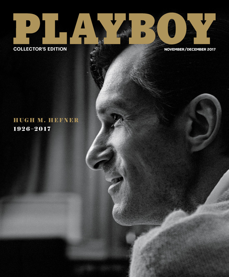 Playboy published today its November/December 2017 issue which features a special tribute to company founder and Editor In Chief, Hugh M. Hefner.
