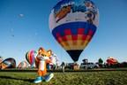 Xbox établit un record Guinness à partir d'une montgolfière personnalisée à l'image de Super Lucky's Tale (PRNewsfoto/Xbox)