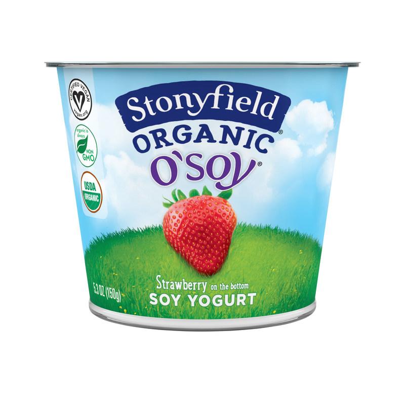 Stonyfield Strawberry O'Soy