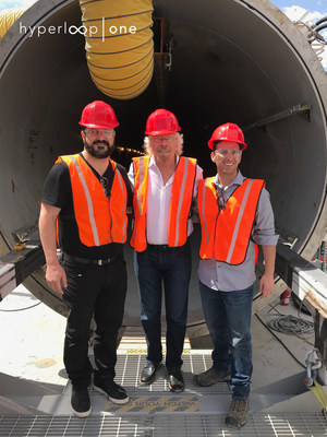 Virgin Hyperloop One Appoints New Co-Executive Chairman And Vice Chairman To Board Of Directors (PRNewsfoto/Virgin Hyperloop One)