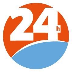 Logo : 24 Heures (Groupe CNW/Québecor Groupe Média)