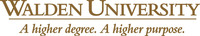 Walden University logo. (PRNewsFoto/Walden University)