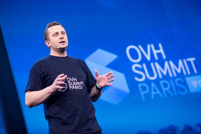« Cette année, OVH fêtera ses 18 ans. La majorité. Ça y est, on a fini  de se structurer. On a déjà construit beaucoup de choses et tout  s'accélère, mais pour moi, ce n'est que le début. On bascule dans l'âge  adulte et une nouvelle phase de la vie commence. Je sens que maintenant  je vais vraiment m'amuser. » -Octave Klaba, fondateur et directeur général d'OVH (Groupe CNW/OVH)
