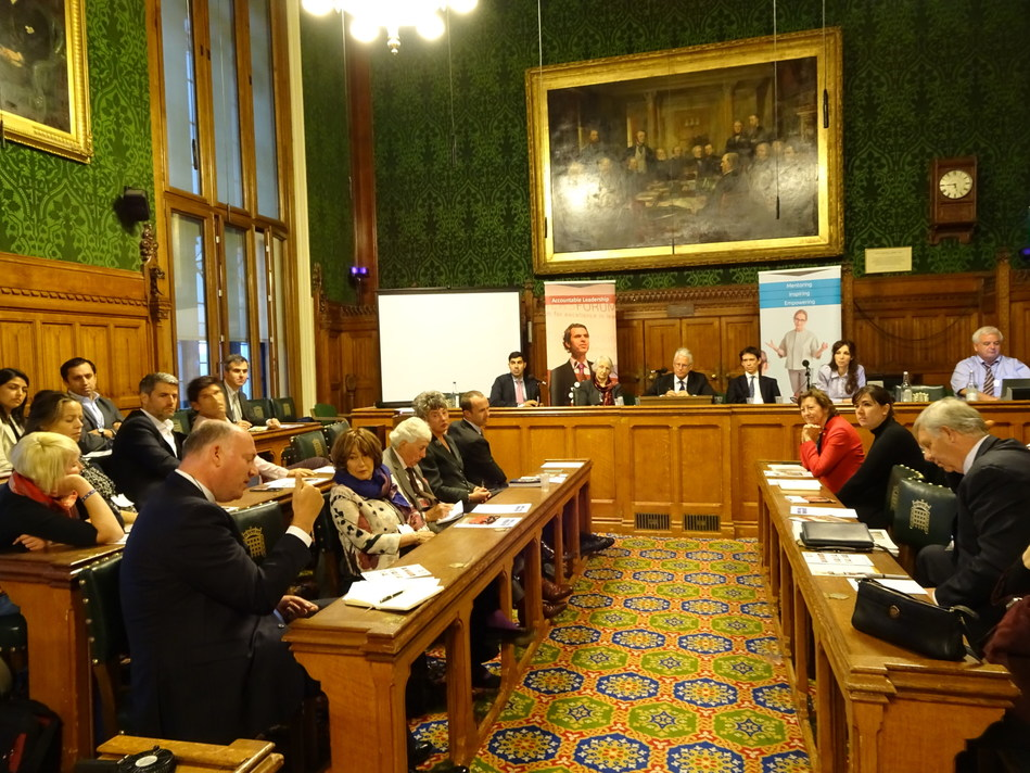 GTF Panel on Hypperconnectivity in the House of Commons, October 17, 2017 (PRNewsfoto/Global Thinkers Forum (GTF))
